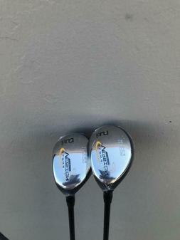 New Alpha V5 Titanium #5, #6 Hybrid Golf Clubs Regular Flex