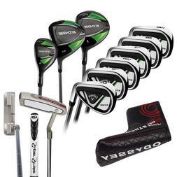 NEW Callaway EDGE 10-Piece Men's Golf Clubs Set 10.5 Regular