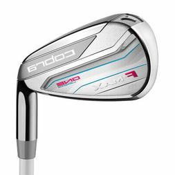 New Cobra F-Max One Length Ladies Iron Set 7-PW,SW RIGHT HAN