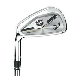 NEW Wilson Staff FG Tour V6 Irons Dynamic Gold Steel 2017 Ch