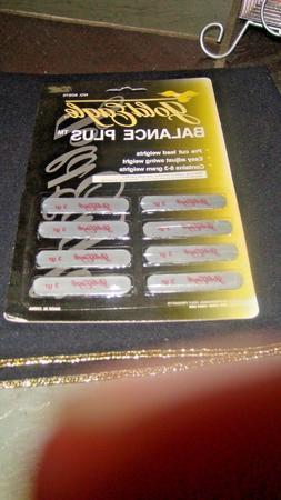 NEW Golf Club Head Weights 8 Pre Cut Lead Tape Strips* Gold