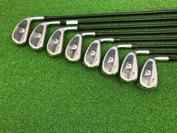 NEW Nike Golf VR Full Cavity Iron Set 4-PW AW Left Handed Gr