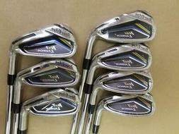 new hot launch 2 irons 4 pw