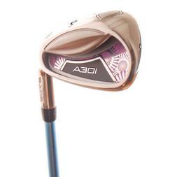 New Adams Idea A7OS Purple 9-Iron Aldila 45 Ladies Flex Grap