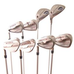 New Cobra King F6 Pink Iron Set #4/5,#5/6, 7-PW,GW,SW Ladies
