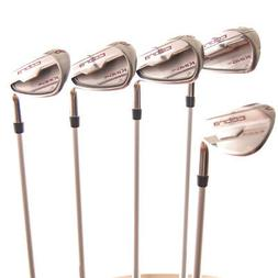 New Cobra King F6 Pink Iron Set 7-PW,SW Ladies Flex Graphite