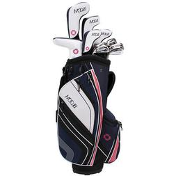 NEW Lady Cleveland Golf Bloom Max Complete Set 2018 Driver,