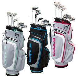 NEW Lady Cobra Golf XL 13 Piece Choose Complete Set, Bag, Ir
