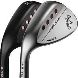 New Callaway Mack Daddy 4 Wedge -Black or Chrome- S Grind -