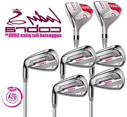 NEW Magenta Pink #4 #5 Women's Hybrids 6-7-8-9-PW Cobra Golf