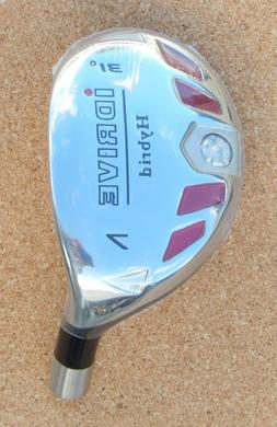 New Men's I DRIVE Hybrid Golf Clubs R/H + Graphite Shaft,  #