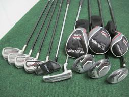 New! Mens Top Flite Senior flex Tour Stainless Golf Club Set
