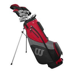 NEW Wilson Profile SGI Mens Complete Golf Club Set w/ Driver