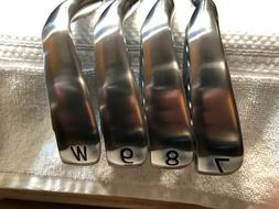 NEW RH PXG 0311P GEN3 forged irons 7-PW, Mitsubishi MMT-80 S