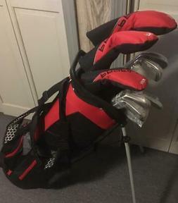 New Tall Mens LH Wilson Profile SGI Golf Club Set, Stand Bag