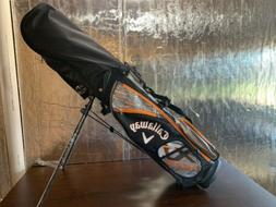 New Callaway XJ Hot  Orange 8 Piece Junior Complete Golf Set