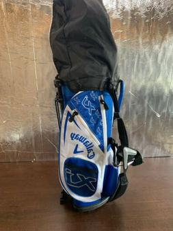 New Callaway XJ Junior White  5 Piece Complete Golf Set RH 1