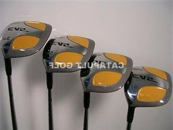 New Square Fairway Wood Set 3 5 7 9 Mens Right Hand Steel Sh