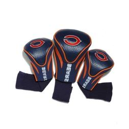NFL Chicago Bears 3 Pack Contour Head Covers