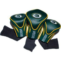 NFL Green Bay Packers 3pk Contour Fit Headcover