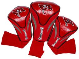 NFL Tampa Bay Buccaneers 3 Pack Contour Head Covers