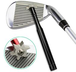 For Optimal Backspin Iron Wedge Golf Club Groove Sharpener T
