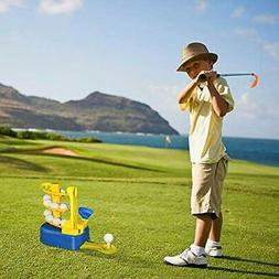 Outdoor Toys For Toddlers Age 3-5, Kids Golf Clubs Set 3-8 B