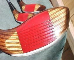 OVERSIZE Ping EYE 2 Golf Clubs set Walnut Wood Stain Driver