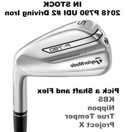 TaylorMade P790 UDI #2 Driving Iron on Steel Shaft - Pick a