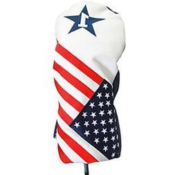 USA Patriot Golf 2016 Vintage Retro Patriotic Driver Headcov