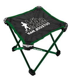 MU Sports Peanut Club Outdoor Man Mini Aluminum Chair Green