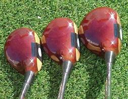 PERSIMMON Wilson Staff II Golf Clubs Woods Set Driver 3 4 w