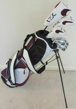 NEW Womens Petite Golf Club Set Driver Wood Hybrid Irons Put