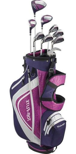 petite ladies 12pc pink and lavender golf