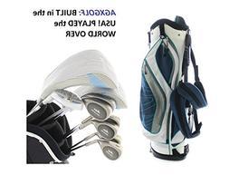 AGXGOLF Ladies Petite Right Hand Golf Club Set w/460 Dr+3Wd+