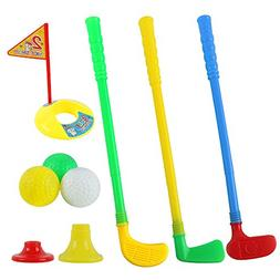 Plastic Golf Sets, willway Golf Clubs Educational Toys for T