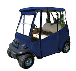 portable drivable golf cart cover