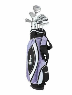 Confidence Power II Ladies RH Package Golf Clubs Set + Bag