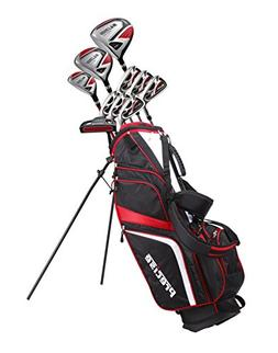 Precise SL500 Men's Complete Golf Set Includes Titanium Driv