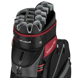 premium cart bag with 14 way organizer