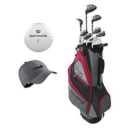 Wilson Profile XD Men's Complete Golf Club Set and Accessori