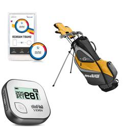 Wilson Profile XD Golf Clubs & Golf Buddy Range Finder & Gol