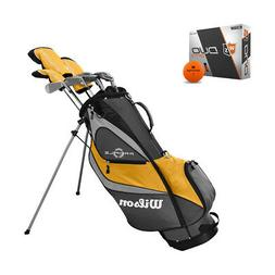 Wilson Profile XD Men's RH Golf Club Complete Set and Orange