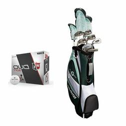 Wilson Profile XLS Womens LH Flex Graphite Golf Club Package