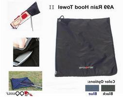 A99 Golf Rain Hood Towel Waterproof Golf Bag Cover Protect C