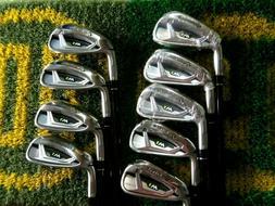 RARE 9 Clubs LH Taylormade M1 Iron Set 3-AW Tayloramde Upgra