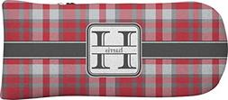 RNK Shops Red & Gray Plaid Putter Cover