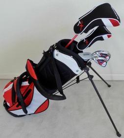 NEW Boys Jr. Golf Set Clubs & Stand Bag for Kids Children Ag