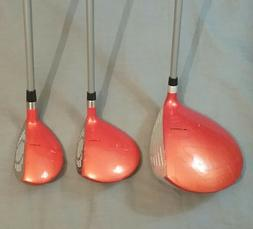 Cobra Rickie Fowler Junior Driver, Fairway Wood & Hybrid You