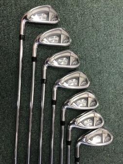Callaway Rogue X 2020 Golf Club Iron Set- 5-pw +aw. 7 Clubs